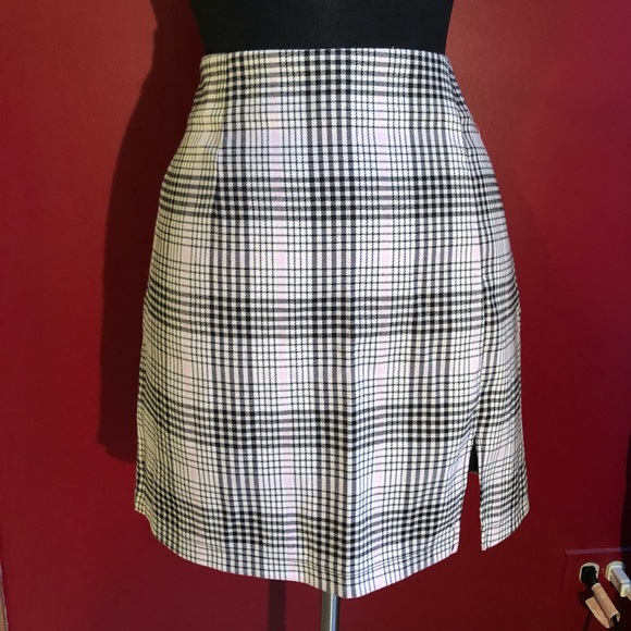 wild fable Dresses & Skirts - New Wild Fable plaid high waisted skirt